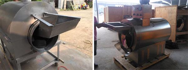 multifunctional peanut roasting machine