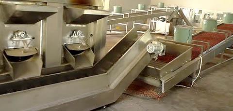 german roasted nuts machine