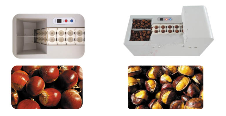 chestnut opening machine