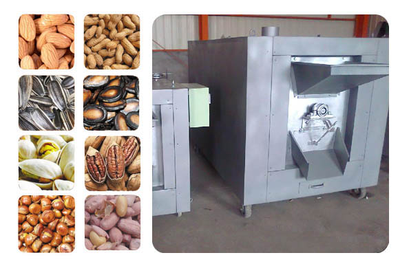 electrical heating peanut roaster machine